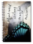 Lamp To My Feet Spiral Notebook