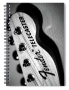 Fender Telecaster Spiral Notebook