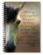 If Horses Could Talk - Verse Spiral Notebook
