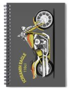 Harley Fxstsse Screamin Eagle Spiral Notebook