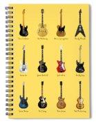 Guitar Icons No2 Spiral Notebook