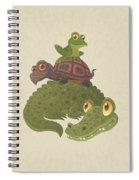 Swamp Squad Spiral Notebook