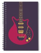 Red Special Guitar - Black Spiral Notebook