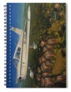 Piper Cherokee -140 Spiral Notebook