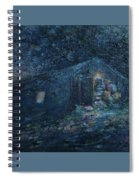 Trapp Family Lodge Cabin Sunrise Stowe Vermont Spiral Notebook