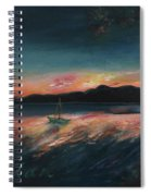 Malletts Bay Sunrise Colchester Vermont Spiral Notebook