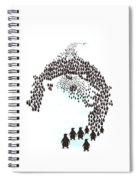 March Of The Penguins Spiral Notebook