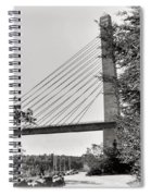 Penobscot Narrows Bridge And Observatory Spiral Notebook