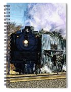 Up 844 Movin' On - Artistic Spiral Notebook