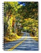 Autumn Paved Spiral Notebook