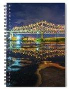 Crescent City Reflection Spiral Notebook