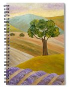 Lavender Sundown Spiral Notebook