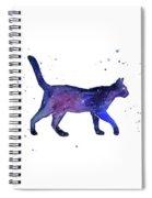 Space Cat Spiral Notebook
