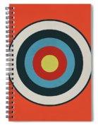 Vintage Target - Orange Spiral Notebook