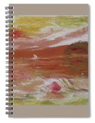 Birds And Sailboat In Paradise Spiral Notebook