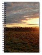 Mount Mansfield September Sunrise Seven Spiral Notebook