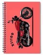 The Yamaha Xs1100 Spiral Notebook