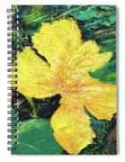 Dancing Flower Spiral Notebook