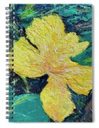 Dancing Flower Spiral Notebook