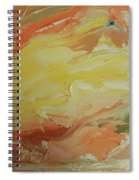 Winged Horse In The Sky Spiral Notebook