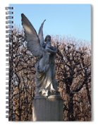Girded By Trees, Light And An Angel Spiral Notebook