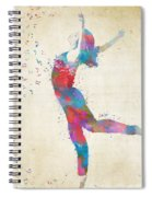 Beloved Deanna Radiating Love Spiral Notebook
