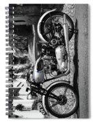 Tiger T100 Vintage Motorcycle Spiral Notebook