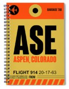 Ase Aspen Luggage Tag I Spiral Notebook