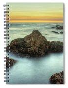 Asilomar Sunset Spiral Notebook