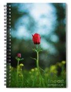 Aspecial Flower  Spiral Notebook