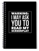 Aspiring Writer Gift Spiral Notebook