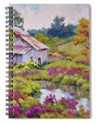 Aster Time Spiral Notebook