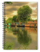 At Home On The River Spiral Notebook