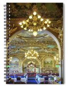 At Le Train Bleu Spiral Notebook