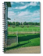 At The Racetracks #2 Spiral Notebook