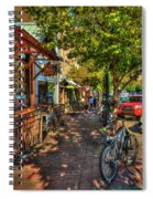 College Town Athens Georgia Downtown Uga Athens Georgia Art Spiral Notebook