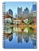 Atlanta Reflected Spiral Notebook
