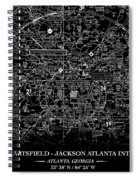 Atlanta Sectional Spiral Notebook