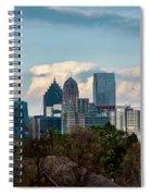 Atlanta Skyline 2 Spiral Notebook