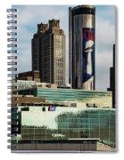 Atlanta Skyline 3 Spiral Notebook