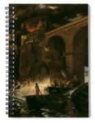 Attack By Pirates Spiral Notebook