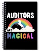 Auditors Are Magical Spiral Notebook