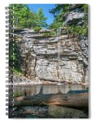 August Morning At Awosting Falls 2019 Spiral Notebook