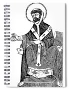 Augustine Of Hippo Spiral Notebook