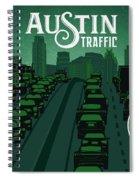 Austin Traffic Spiral Notebook