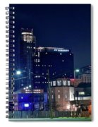 Austin Unique Angle Spiral Notebook