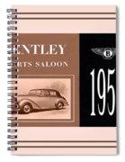 Automotive Art 265 Spiral Notebook
