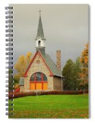 Autumn At Grand Pre Spiral Notebook