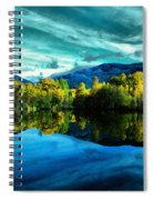 Autumn Beauty Lakeside Spiral Notebook