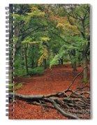 Autumn Blanket Spiral Notebook